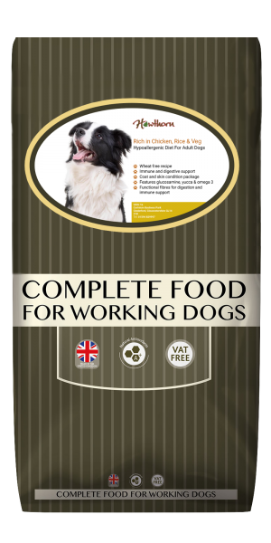 HAWTHORN SUPER PREMIUM DOG FOOD WITH CHICKEN, RICE & VEG Product Image