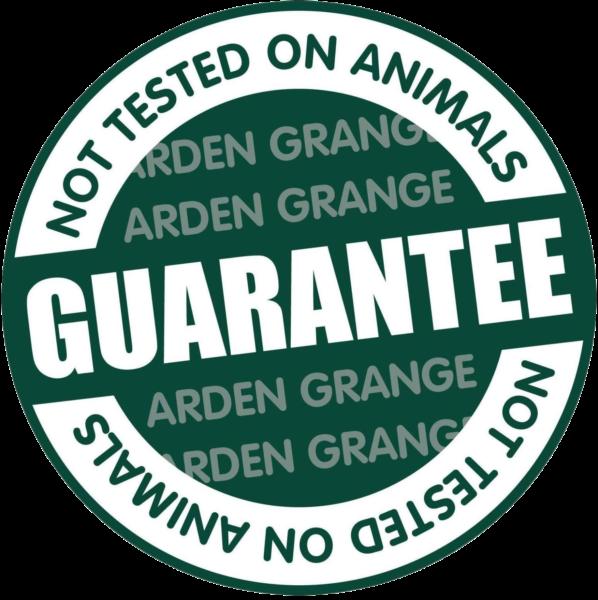 Arden Grange Not Tested on Animals Guarantee