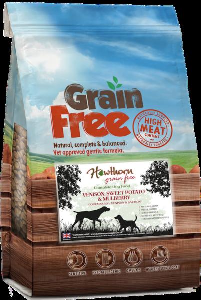 grain free venison dog food