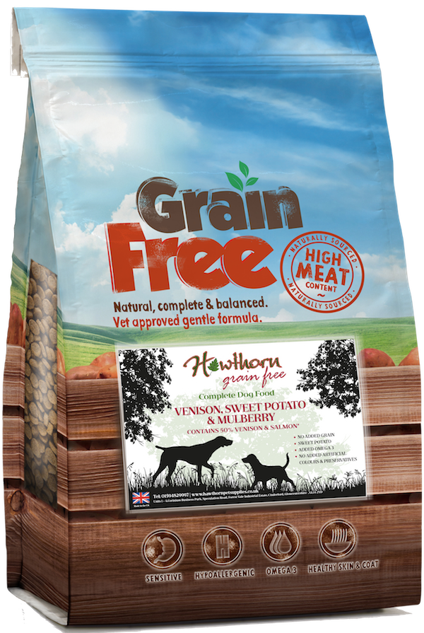 grain free venison dog food