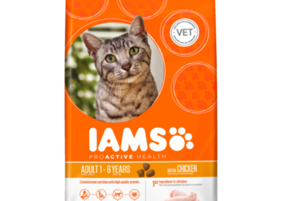 Iams Cat all 2.55/3kg £9.99
