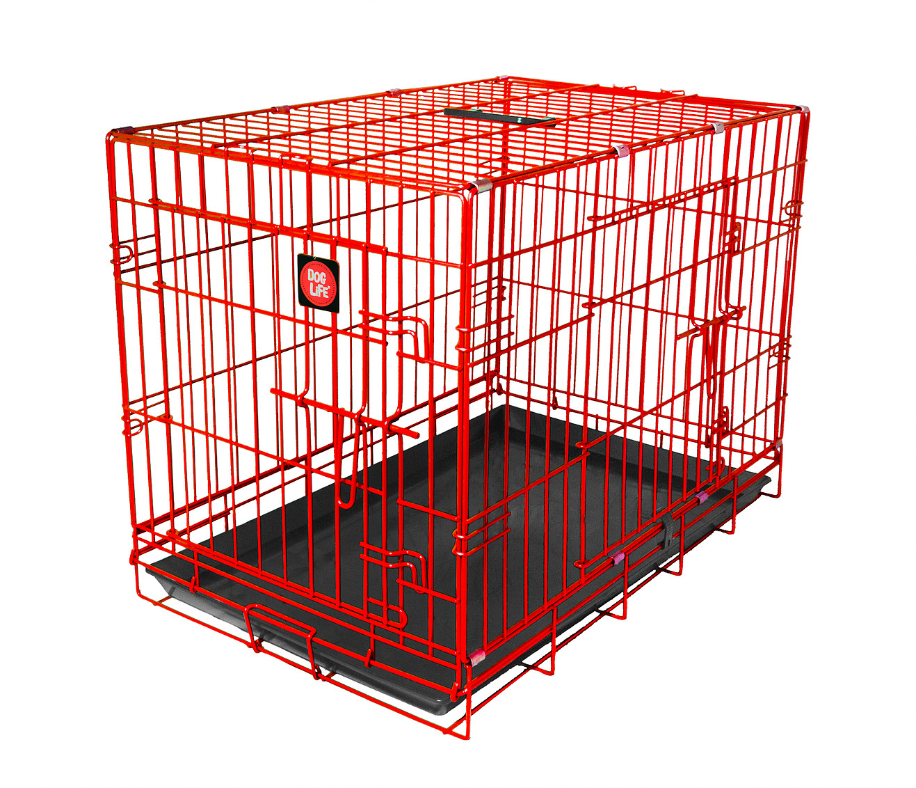 Red Dog Crate High-quality, durable, colour dog crate which is easy to clean and assemble. Available in a variety of sizes and colours, perfect for any dog