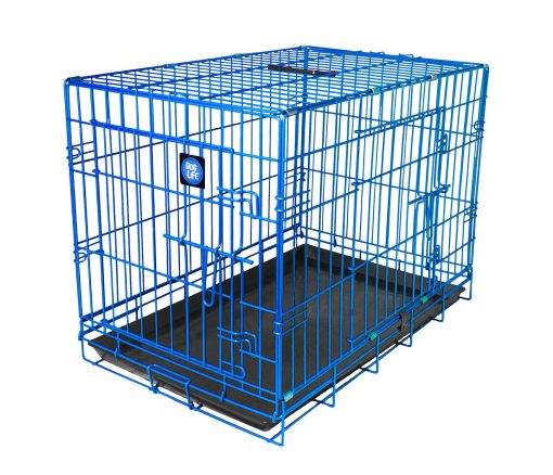 Blue Dog Crate High-quality, durable, colour dog crate which is easy to clean and assemble. Available in a variety of sizes and colours, perfect for any dog
