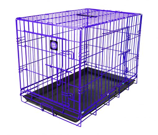 Purple Dog Crate High-quality, durable, colour dog crate which is easy to clean and assemble. Available in a variety of sizes and colours, perfect for any dog