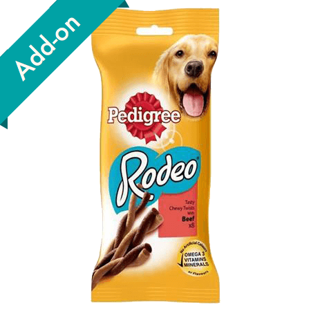 Pedigree Rodeo Treats 8 pack beef