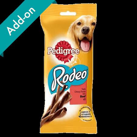 Pedigree Rodeo Treats 8 pack beef
