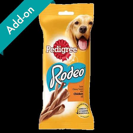 Pedigree Rodeo Treats 8 pack chicken