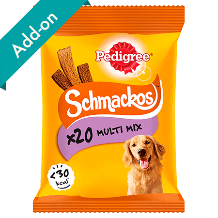 Pedigree Schmackos Treats 20 stick pack multi