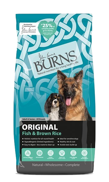 Burns Original Adult Dog Food Fish and Brown Rice