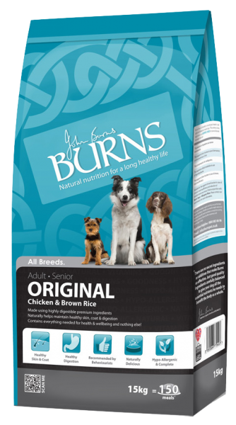 Burns Original Adult Dog Food Chicken and Brown Rice