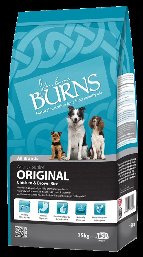 Burns Original Adult Dog Food Chicken and Brown Rice
