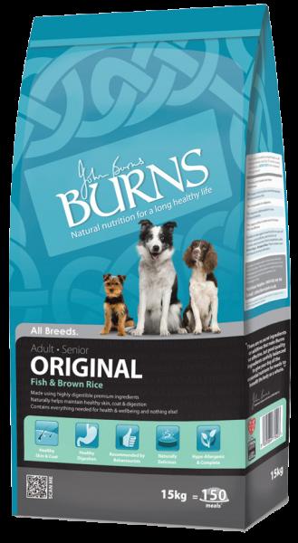 Burns Original Adult Dog Food Fish and Brown Rice