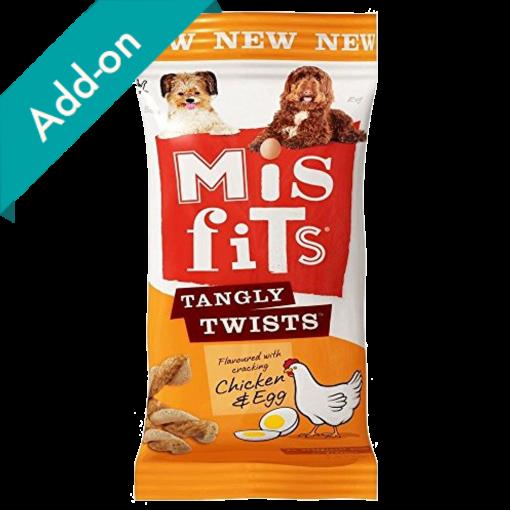 Misfits Tangly Twist Dog Treats