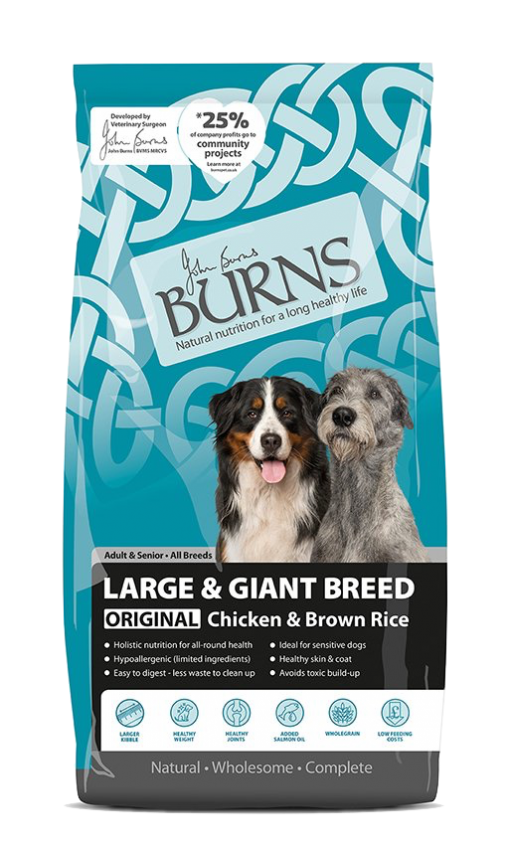 Burns Large & Giant Breed Original Chicken and brown rice