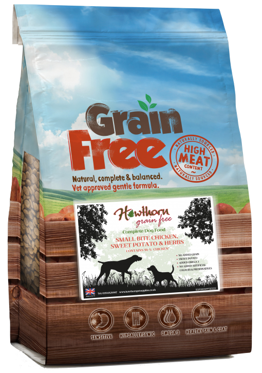 grain free small breed dog food chicken