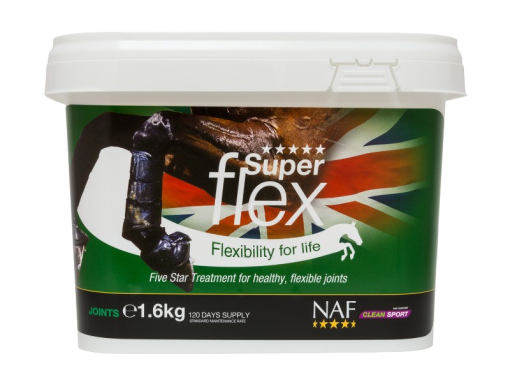 NAF Superflex five star horse and pony joint aid supplement 1.6Kg pack