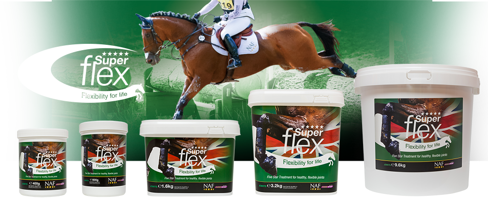 NAF superflex horse supplement Banner