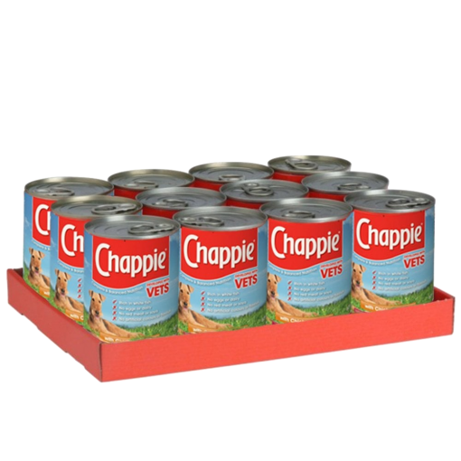 Chappie Original Wet Dog Food 12 x 412g tins