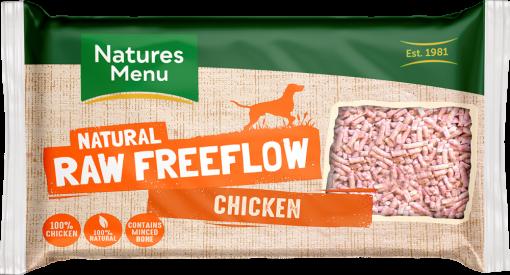 Natures Menu Natural Raw Freeflow Chicken pack shot