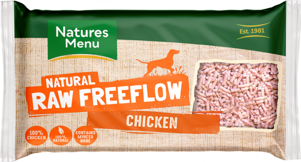 Natures Menu Natural Raw Freeflow Chicken pack shot