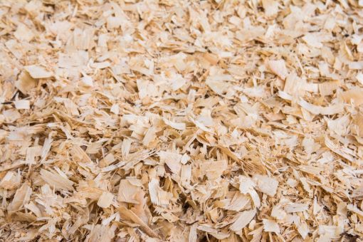 stockmax bedding product close up shavings