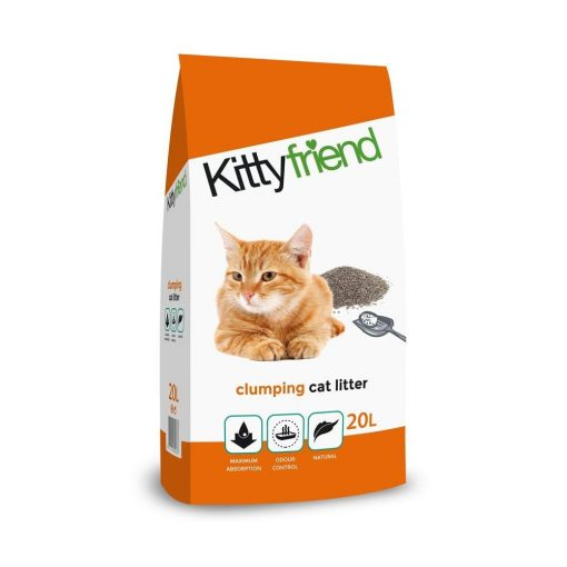 Kitty Friend Clumping Cat litter product shot