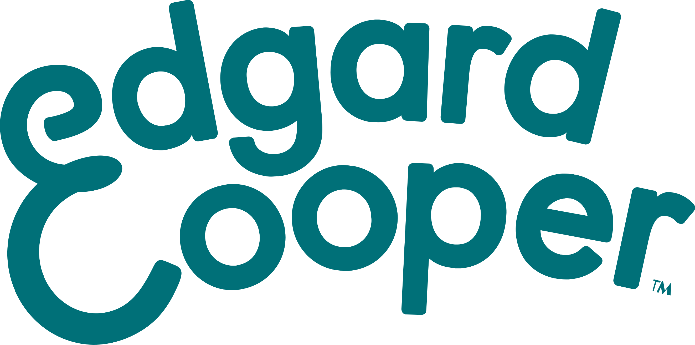 Edgard and Cooper brand logo for their dog food
