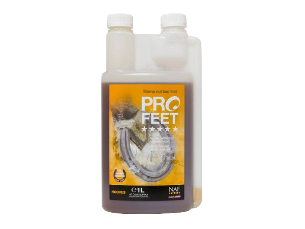 1 Litre Bottle of NAF Pro Feet Liquid