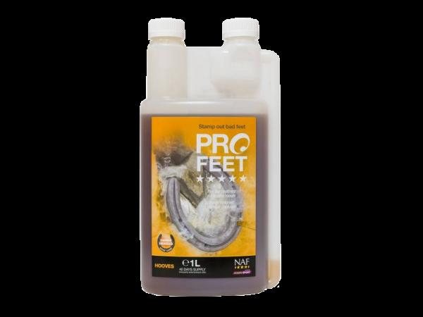 1 Litre Bottle of NAF Pro Feet Liquid