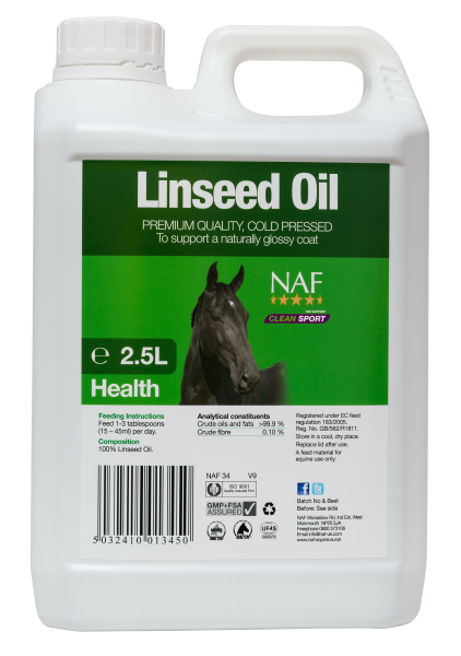 NAF Linseed Oil 2.5 Litre Product Image