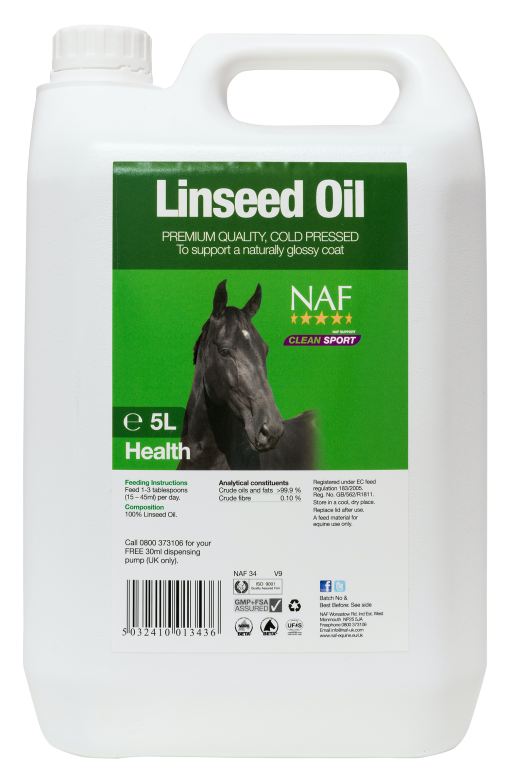 NAF Linseed Oil 5 Litre Product Image