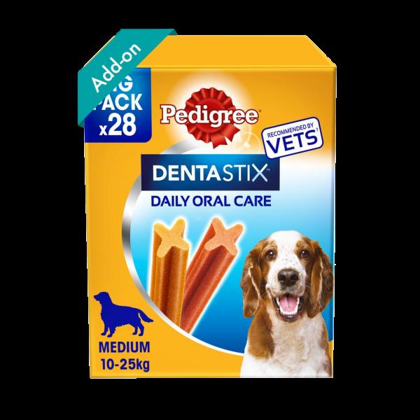 Pedigree DentaStix Medium Dog 28 Sticks Product Image