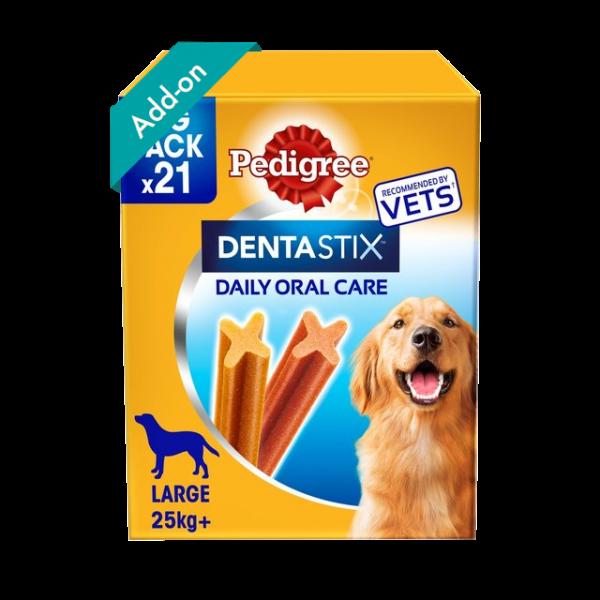 Pedigree DentaStix large Dog 21 Sticks Product Image